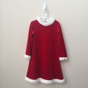 NWOT Red & White Holiday Dress Size 5